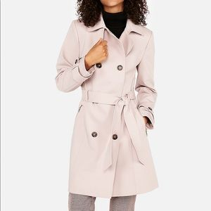 Classic double breasted trench coat XS petite